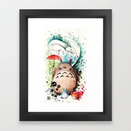 The Crossover Framed Art Print