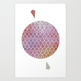 Hazy Meds Art Print