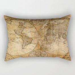 World Map 1746 Rectangular Pillow