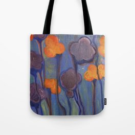 Flowered Atmosphere Tote Bag