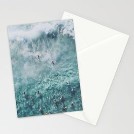 lets surf xx Stationery Cards