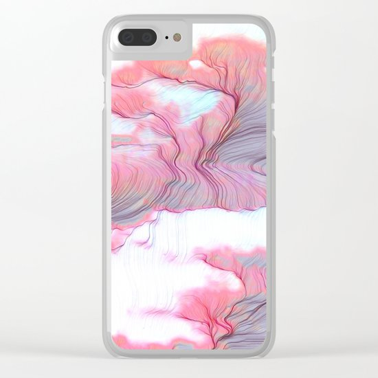 Feel Free Clear iPhone Case