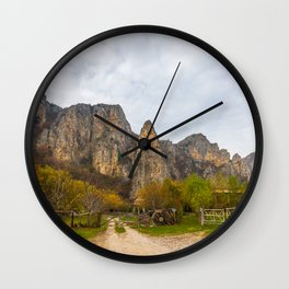 Cheile Turenilor, Romania Wall Clock