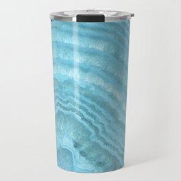 Blue Agate Crystal Travel Mug