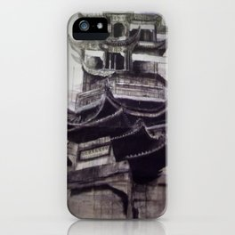Charcoal Tradition iPhone Case
