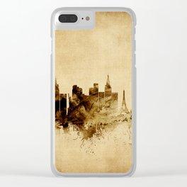 Las Vegas Nevada Skyline Clear iPhone Case