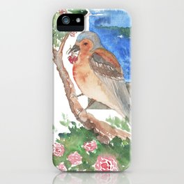 Bird by the beach iPhone Case