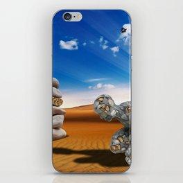 Homem de Pedra iPhone Skin