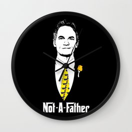 Not-A-Father (Ducky Tie Variant) Wall Clock