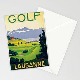 Vintage poster - Switzerland Stationery Cards