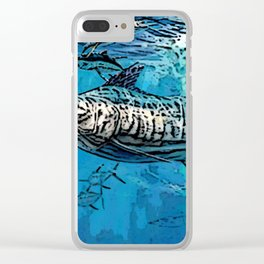 marlin fish Clear iPhone Case