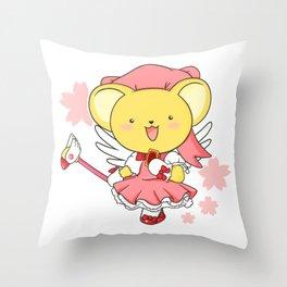 cardcaptor kerochan Throw Pillow
