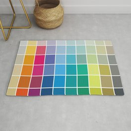 Colorful Soul - All colors together Rug