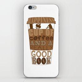 Coffee And Books iPhone Skin