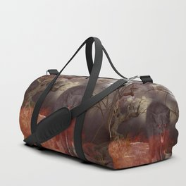 Awesome wolf Duffle Bag