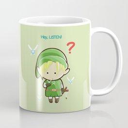 Hey Listen! Cute Link From Zelda Kawaii :) Coffee Mug