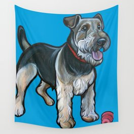 Airedale Wall Tapestry