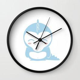 IL DINO BLU &company Wall Clock
