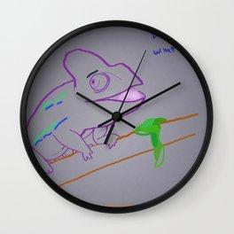 Ah Caray! Wall Clock