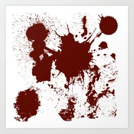 Bloodletting Art Print
