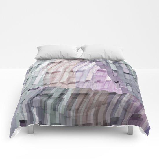 Abstract windows Comforters