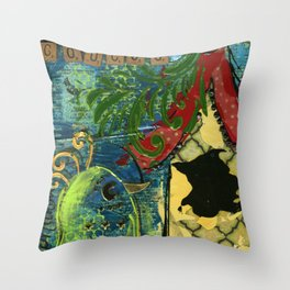 Coucou Throw Pillow