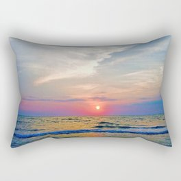 Naples Florida sunset on the Gulf of Mexico Rectangular Pillow