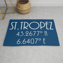 St. Tropez Latitude Longitude Rug
