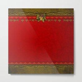 Christmas Deco Metal Print