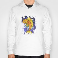 koi fish Hoodies featuring Koi Fish by Spooky Dooky