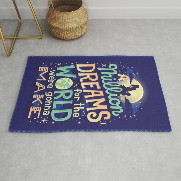 Million Dreams Rug By Risarodil Society6