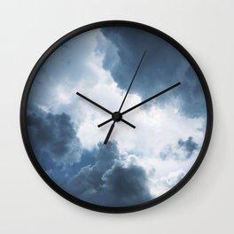 Rolling Cumulonimbus Wall Clock