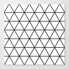 Isometric Pattern Canvas Print
