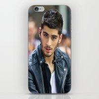 zayn malik iPhone & iPod Skins featuring Zayn Malik by behindthenoise