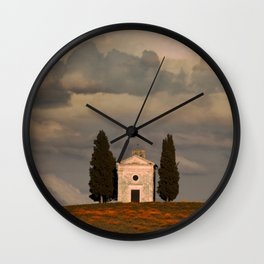 White Chapell Wall Clock