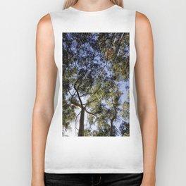 Eucalyptus Tree Canopy Biker Tank