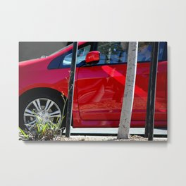 Red Hot At High Noon Metal Print