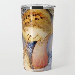 Angel Gabriel Antique Spiritual art Travel Mug