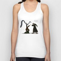 aragorn Tank Tops featuring Thankless Job by wolfanita