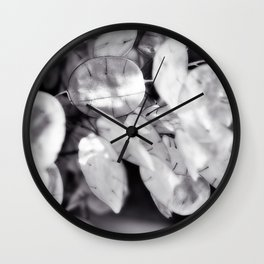 lunaria and light Wall Clock