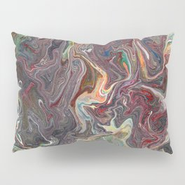 Abstract Oil Painting 22 Pillow Sham