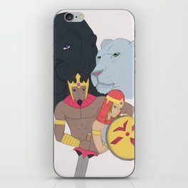 Pride King And Queen iPhone Skin