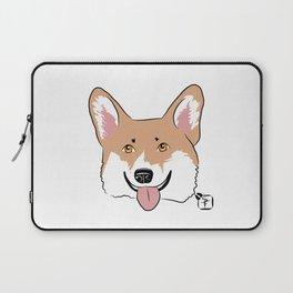 Corgi Face Laptop Sleeve