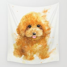 Poodle puppy Wall Tapestry