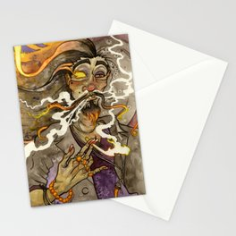 Smoke and Flame Stationery Cards