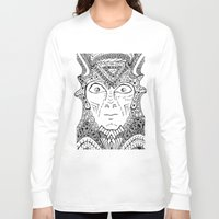 warrior Long Sleeve T-shirts featuring Warrior by Ommou