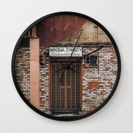 imperial dynasty Wall Clock