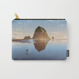 Haystack Rock at Cannon Beach - Simpler Carry-All Pouch