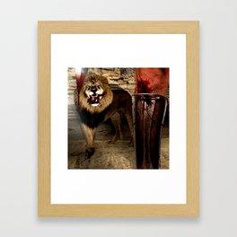 For The Glory of Blood Framed Art Print