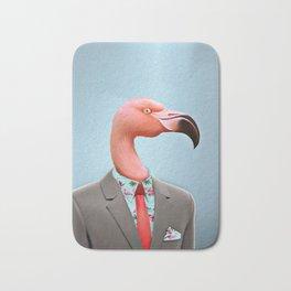 Pink Flamingo's Bath Mat